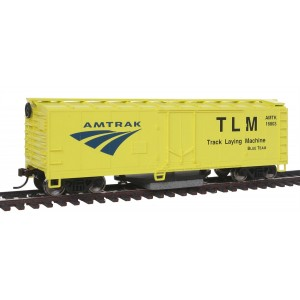 Walthers Trainline HO Track Cleaning Boxcar, Amtrak
