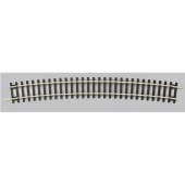 Piko 55219  H0 Nickel Silver Track bend  R9 / 15° 908 mm ( 1 Pc. )