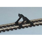 Piko 55280 Buffer Stop  Wooden Indian Type 2 Pcs Compatible With Any Ho/OO Scale Track