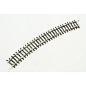 Piko 55212  H0 Nickel Silver Track bend  R2 R421,3 1/2in / 30° ( 1 Pc. )