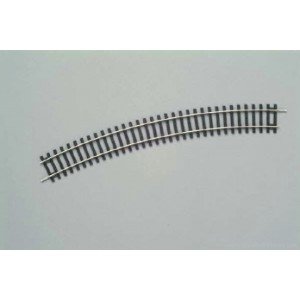 Piko  55213 H0 Nickel Silver Track bend  R3/30° ( 1 Pc. )