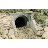 Woodland Scenics C1263 Culvert (Sewer/Drain) Portals - Masonry Arch - Pack Of 2