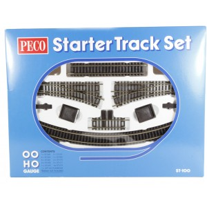 Peco Products ST-100 Starter Track Set
