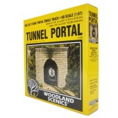 Woodland Scenics Tunnel Portal - Single track - Cut Stone