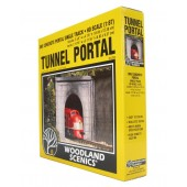 Woodland Scenics Tunnel Portal - Single track - Concrete