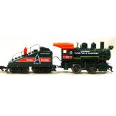 Aristocraft 0-4-0 Steam Locomotive With Smoke & Dcc Ready