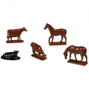 Atlas Cows & Horses 12 pcs. Total