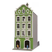 Model Power  Podiatrist Assembled Building - Lighted with 2 hand painted figures Built Up