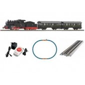 Piko Ho 97933 Starter Set Passenger Train with Steam loco PKP ,PIKO A-Track with Railbed