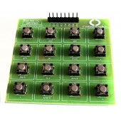 4x4 Matrix 16 Keypad Keyboard Module 16 Button  keypad  x 1 Pc