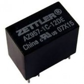 AZ957 SUBMINIATURE (Tiny) PC BOARD RELAY 9 Volts (Can Be fitted in a Loco) x 1Pc
