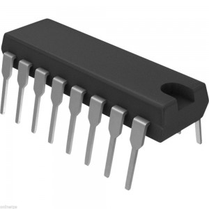 74LS393 Dual 4-bit Binary Counter 1 Pc