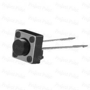 2-Pin  Square Push Switch x 10 Pcs