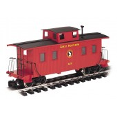 Bachmann G Scale Great Northern - Eight-Wheel Center Cupola Caboose