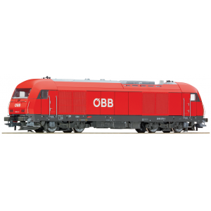 Roco Ho Scale Diesel locomotive Rh 2016 of the ÖBB