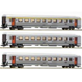 Roco CP - express train First Class & Second Class Mix Coaches x 3 Pcs