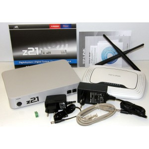 Roco WiFi Z21 DCC System Complete Train Control System (Router not included)