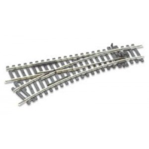 PECO St 241 Left Hand Turnout compatible with Hornby and atlas tracks