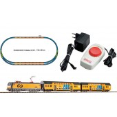PIKO Model Train  96975 HO SCALE 1:87 NS Double Decker PASSENGER STARTER SET With Station Loop