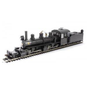 Bachmann On30 Scale USA 2-6-6-2 Articulated Locomotive W/Tender Painted, Unlettered (Black) With Customized Dcc & Sound
