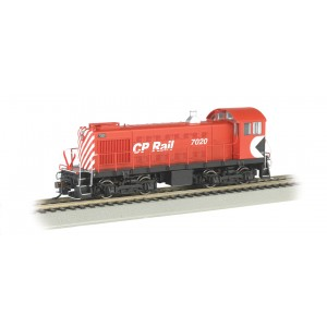 Bachmann HO  CP Rail #7020 - ALCO S2 Switcher Dcc Ready