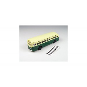 Classic Metal Works GMC TDH 3610 Bus,Green with Cream Roof
