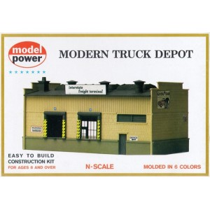 Model Power N  Modern Truck Depot Kit