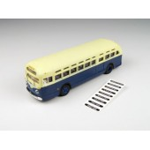 Classic Metal Works GMC TDH 3610 Bus, Blue with Cream Roof
