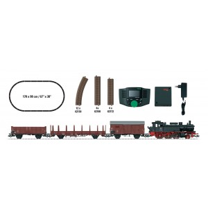 Trix 21528 Gauge H0 Digital-Start-Set: freight train with class 74 of the DB, epoch III
