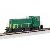 Bachmann HO  GE 70-Ton Diesel Switcher, Unlettered Green (DCC Equipped)