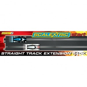 Scalextric Start C8527 Straight Track 2 Pcs