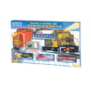 Bachmann Trains 00501 Digital Commander Ready - To - Run DCc - Equipped Ho Train Set