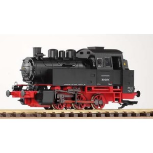 Piko G Scale DR III BR80 Steam Loco, Black/Red