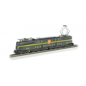 Bachmann HO  GG1 Electric, DCC and Sound, Pennsylvania Railroad #4807 (Brunswick Green, Single Stripe) Pre owned As New With Box