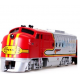 Bachmann  Santa Fe EMD FT diesel locomotive with operating headlight