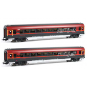 Piko Railjet Passenger Coaches 2 Pcs
