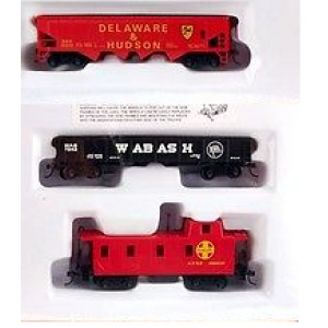Bachmann Santa Fe 3 Freight car set (New No Box)