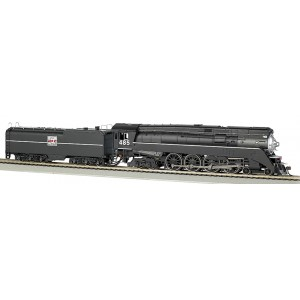 Bachmann Western Pacific #485 - GS64 4-8-4 DCC Equipped