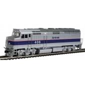 Walthers EMD F40PH With Factory Fitted Dcc & Sound By Soundtraxx - Amtrak #406 (Phase IV)