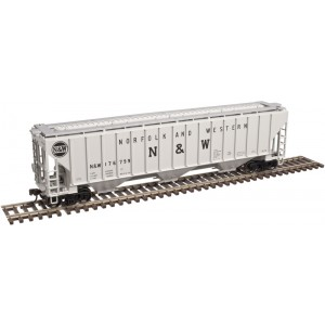 Atlas  Thrall 4750 Covered Hopper - Norfolk & Western #176700