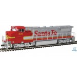 Walthers GE Dash 8-40BW - Factory Fitted DCC & Sound By Soundtraxx-- Santa Fe #505 (Super Fleet Warbonnet)