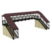 Bachmann Branchline Covered Footbridge (222 x 80 x 90mm)