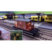 DSM Flashing Red Beacon Light & Interior Lighting Kit for Model Trains, Overhead Tanks & Crossing Gates