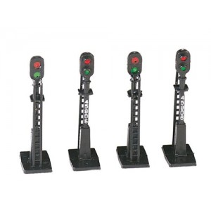Bachmann Trains Block Signals (4Pcs)