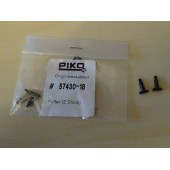 Piko SPARE 57430-18  Buffers Rectangular 2 Pcs