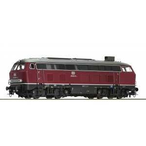 Roco  - Diesel locomotive 210 003, DB Dcc Sound Factory Fitted