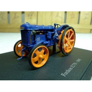Hachette Collection Die Cast 1/43 1945 FORDSON E27N TRACTOR IN BLUE & ORANGE TR39