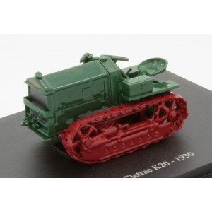HACHETTE DIECAST TRACTOR Cletrac K20  The World Of Farming (Free Shipping)