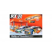 SCX Scalextric 1/32 Analog Slot Car Race Track Sets - C3 Rally of Sweden Brand New In Box Packing (Free Shipping)