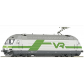 Roco Electric locomotive Sr2, green/white, VR